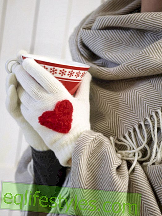 live - DIY tip: gloves with felt heart