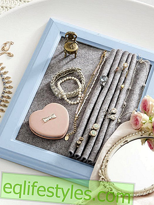 It's so easy to make a jewelry storage