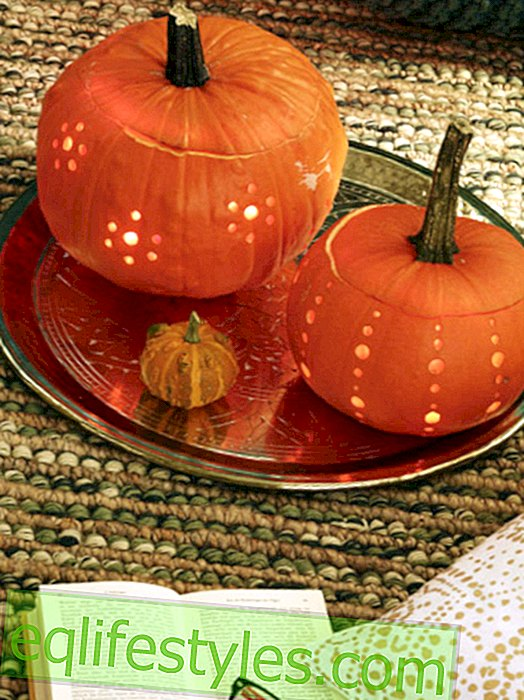 Great pumpkin decoration without carving: so easy to copy!