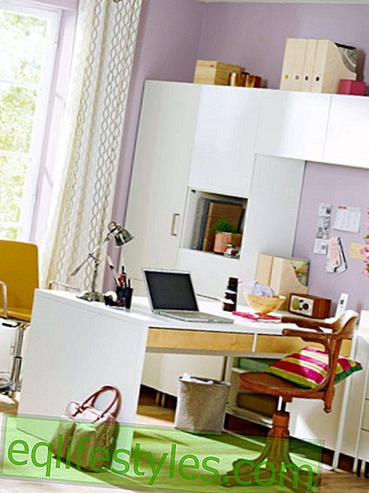 Before-after: A nursery becomes a home office