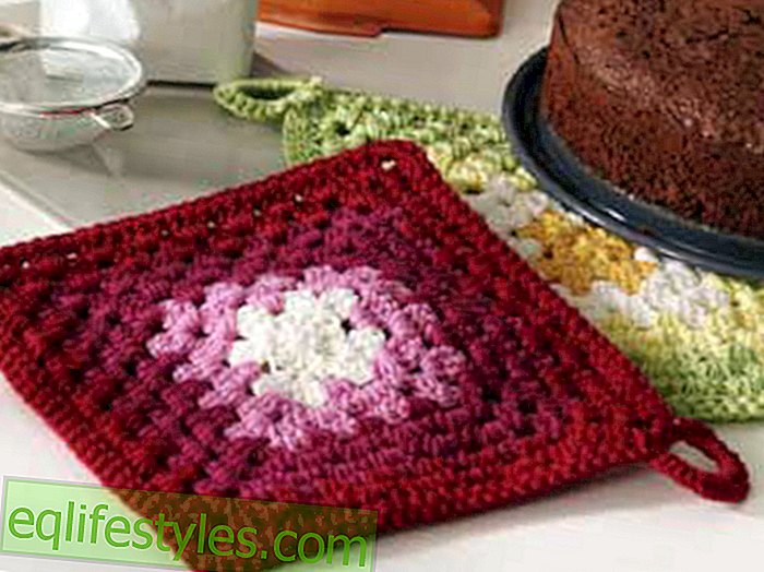 live: Crochet Crochet Pattern for Potholders: This is how it works stitch by stitch
