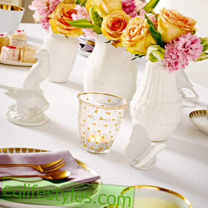 Four styles: the right table decoration for every taste