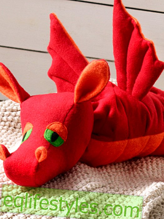 SewingGrace sewing instructions for cute stuffed dragons