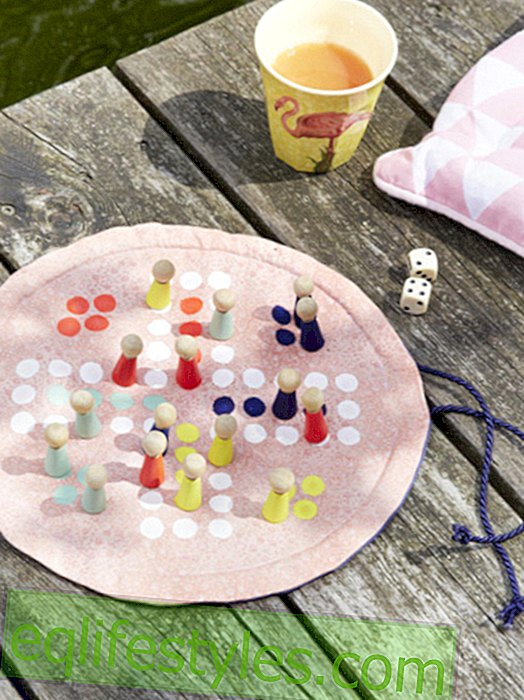 DIY idea: board game for outdoors