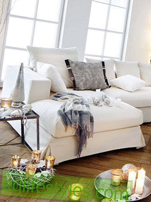 White furniture for more winter magic