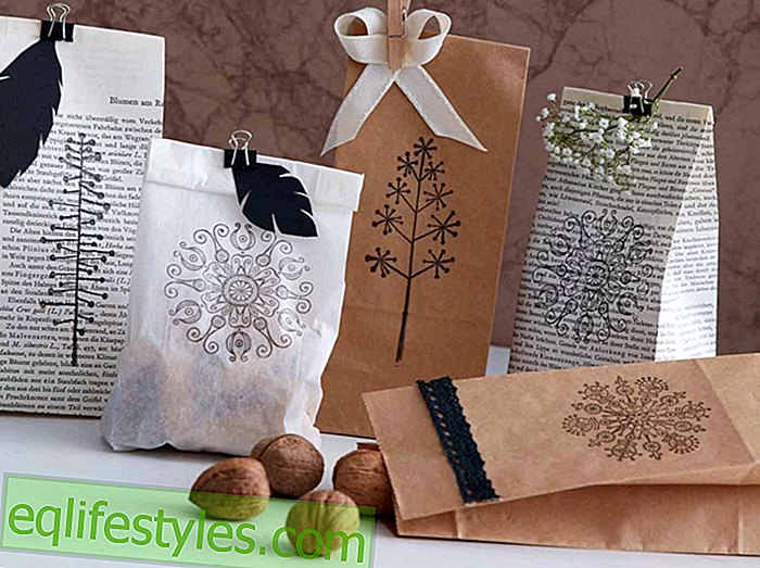 Pretty gifts crafting instructions for gift bags