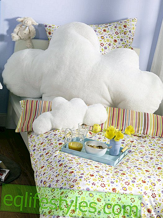 live: Cloud pillow for the bed