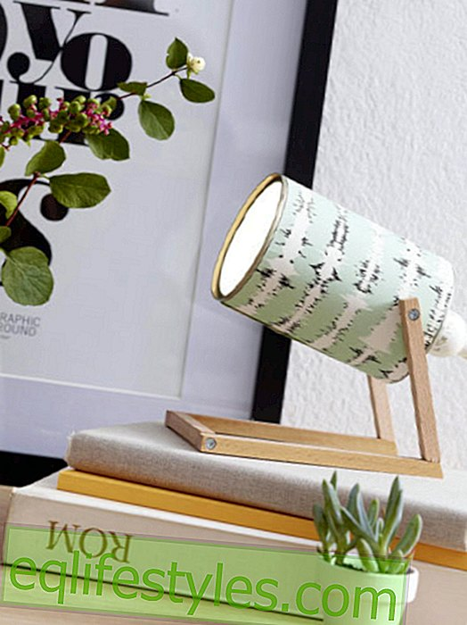 Making a table lamp yourself: It's that easy