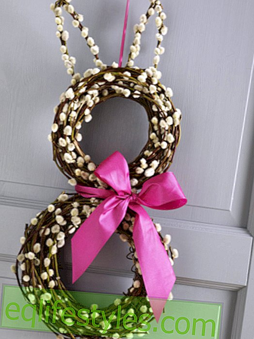 DIY tip: Sweet Easter wreath of pussy willow