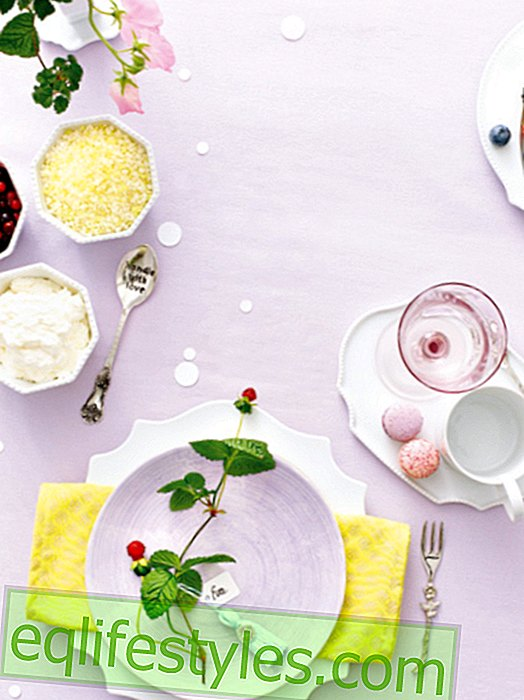 Decorating ideas for your best friend's birthday table