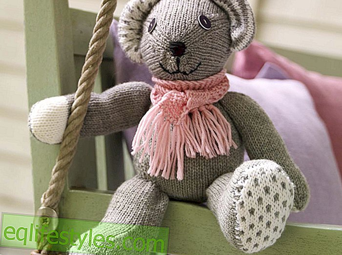 live - For big and small knitting instructions for a cute teddy