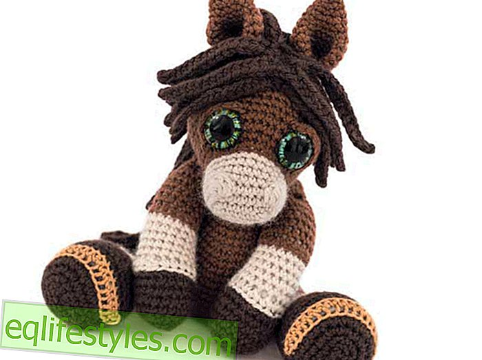 For big and small crochet instructions for a pony