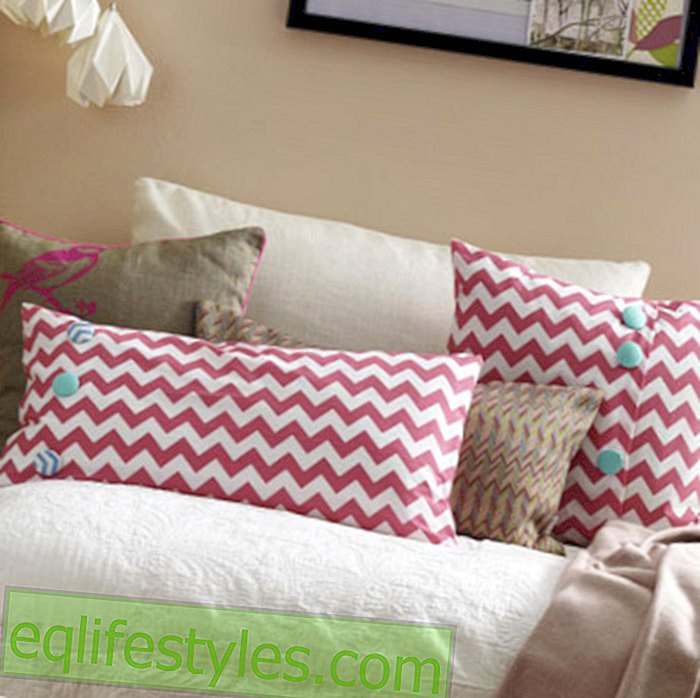 Cushion covers make yourself - how it works!
