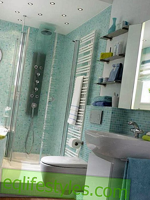 Small bathroom with a lot of comfort