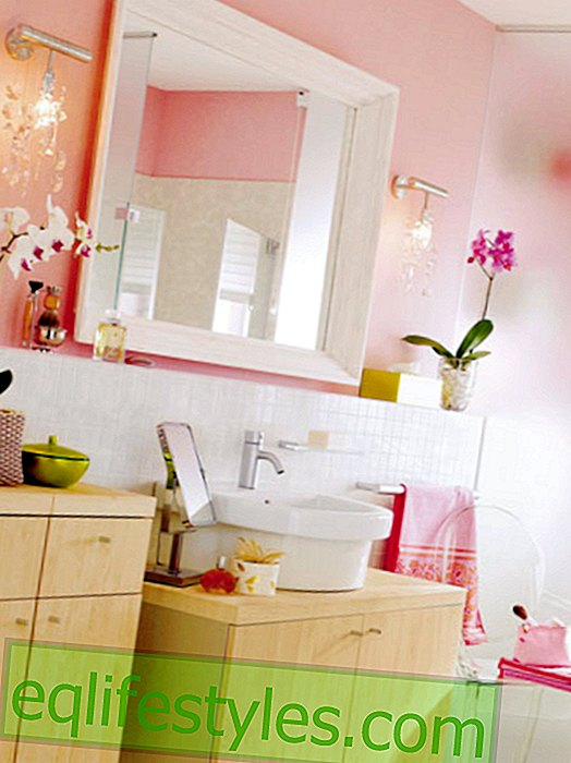 Romantic look for the bathroom