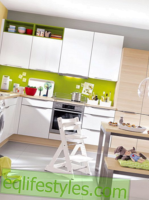 Optimal kitchen design for families, couples and singles