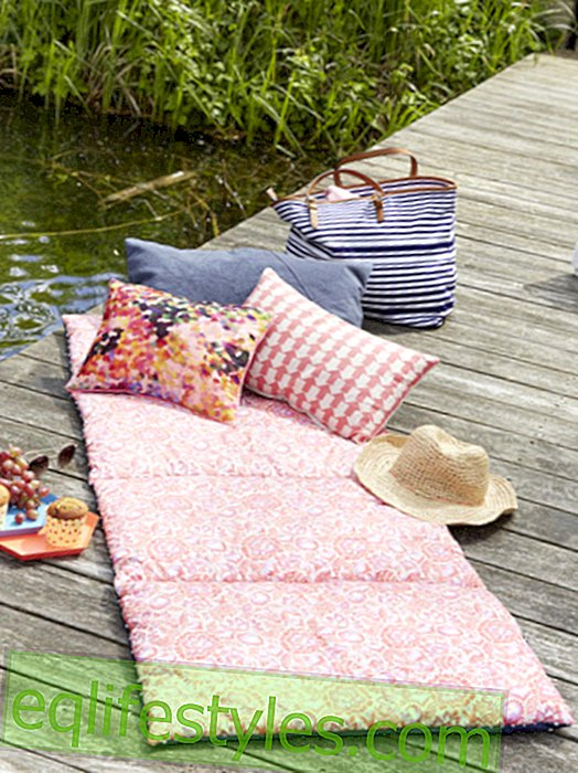 It's so easy to sew a picnic mat