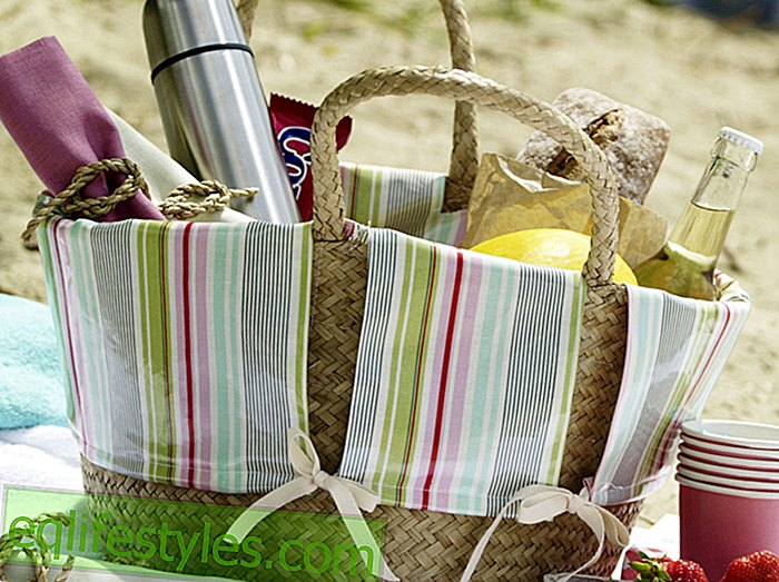 DIY guide for a picnic basket