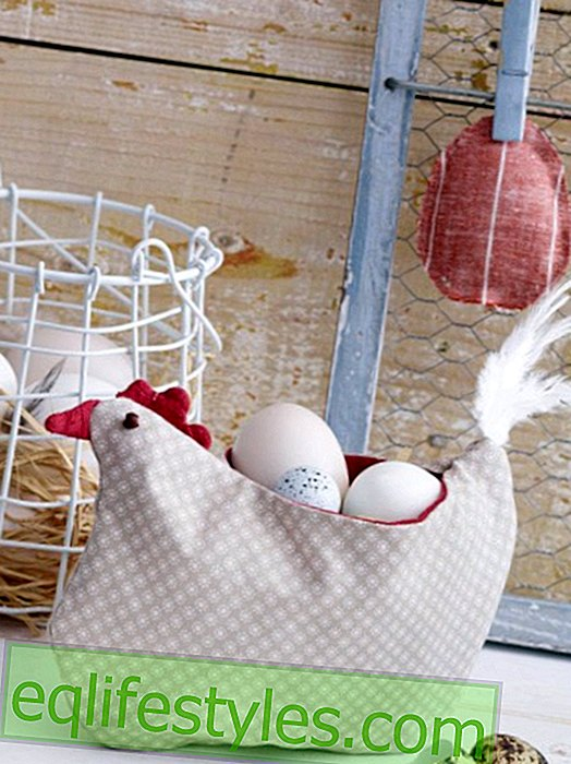 It's so easy to sew an egg hen