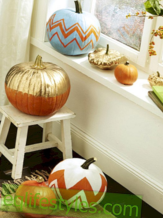 Do it yourself: Autumn decoration ideas with pumpkins
