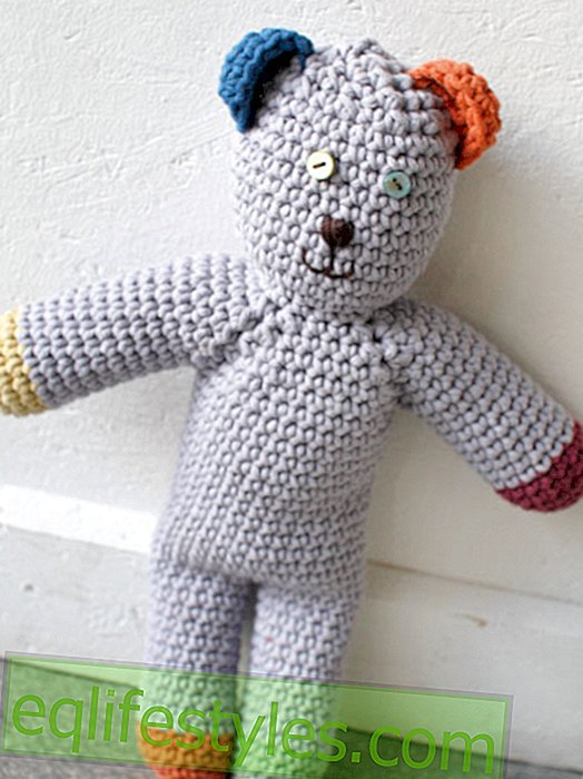 Instructions: Simply make your own strickteddy