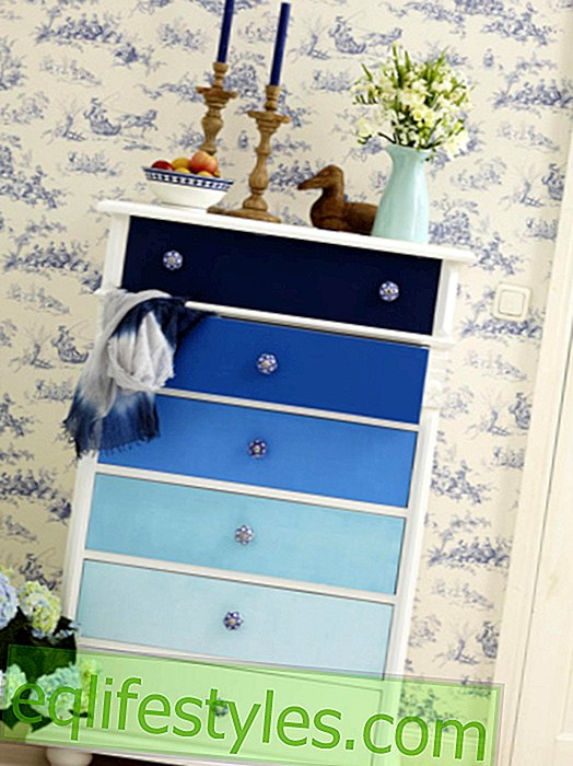 5 DIY ideas: How to decorate your old dresser