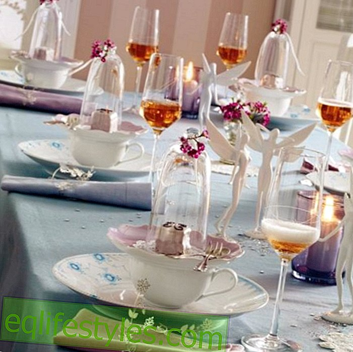 Spring table decoration - in two variants
