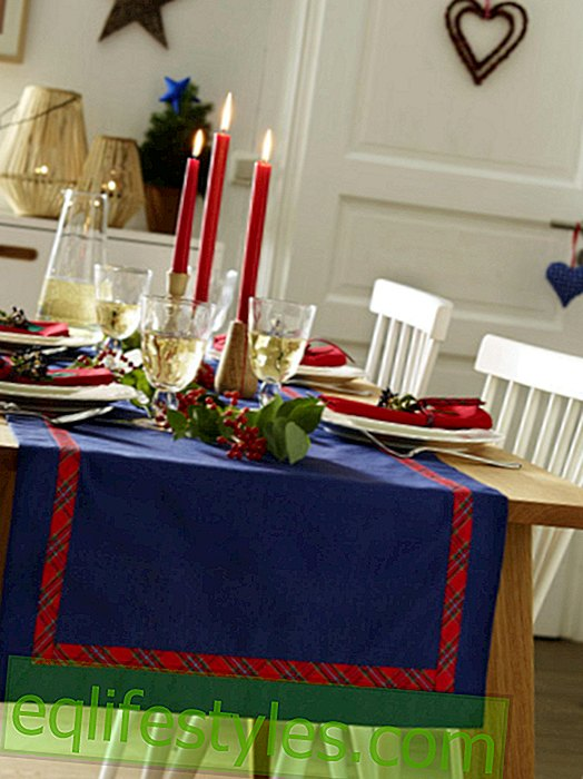 live: DIY guide for a table runner, 2014