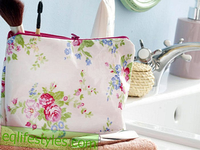 live: DIY sewing instructions: So you make a cosmetic bag yourself!