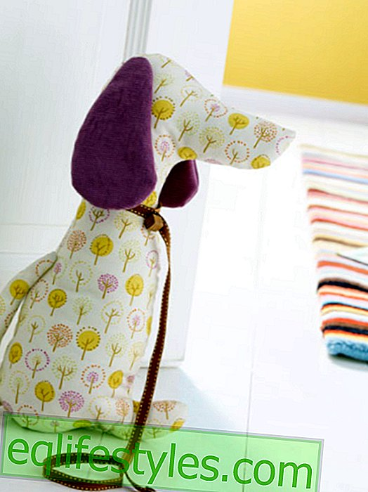InstructionsSewing instructions for a fabric dachshund
