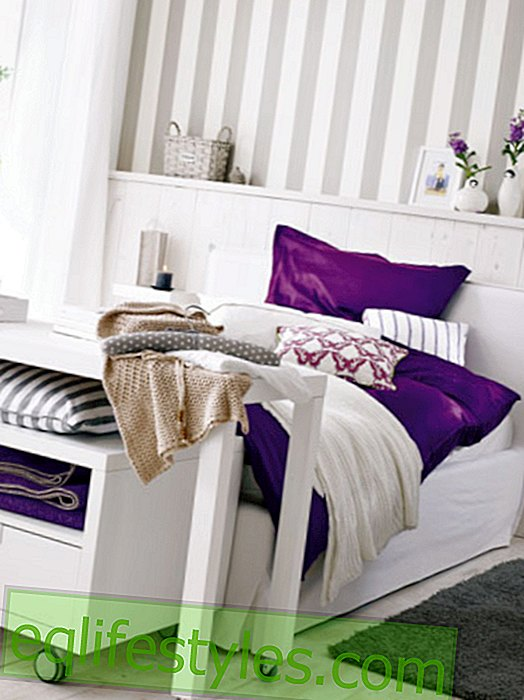 live - Styling in the bedroom - with wow effect