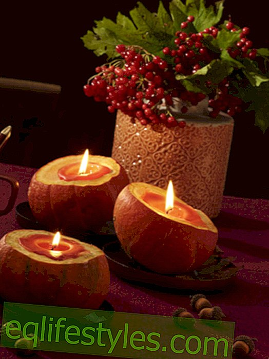 6 DIY ideas: candle deco for a cozy autumn