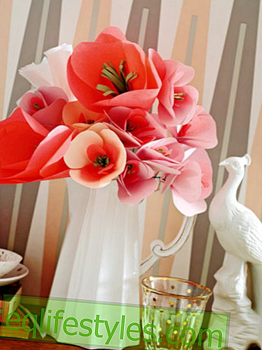 live - DIY: Creative decoration made of paper yourself