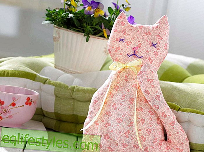 For large and small sewing instructions for a fabric cat - live - 2019