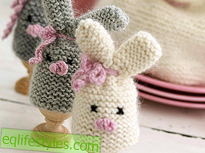 For the Easter Eggs Crochet Pattern for Bunny Egg Warmer
