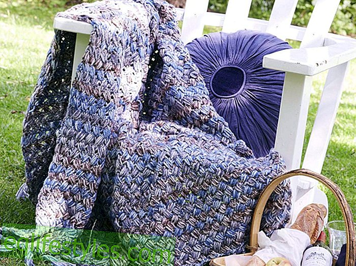 Cuddly blanketKnitting pattern: How to knit this cozy blanket