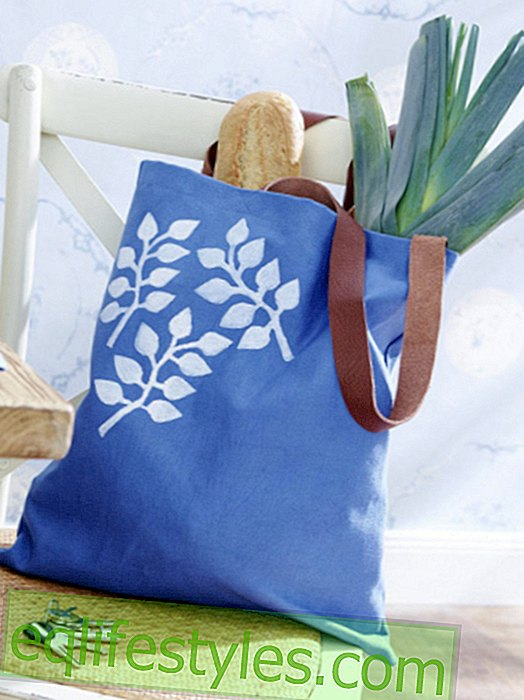 With instructions: make a shopping bag yourself