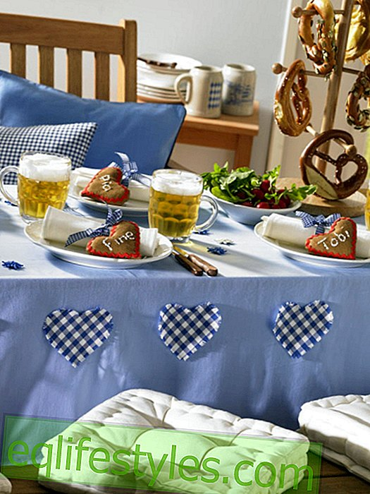 Oktoberfest: tablecloth