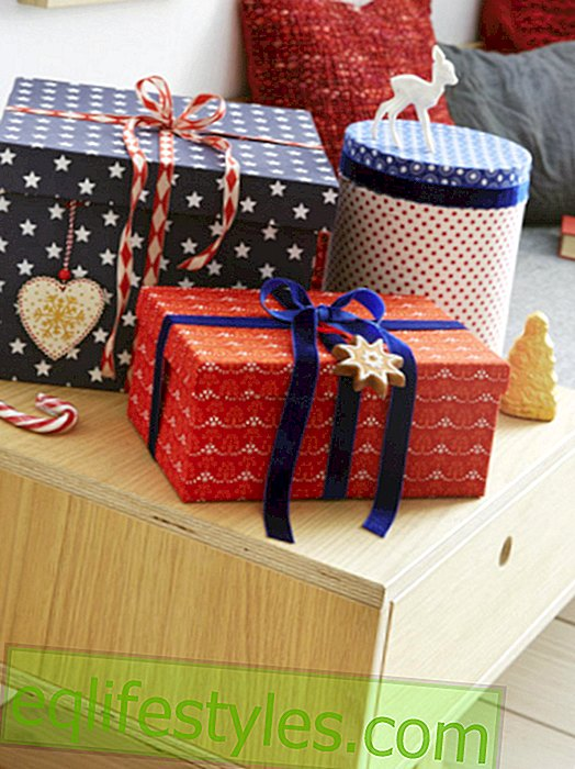 DIY: Winter gift boxes