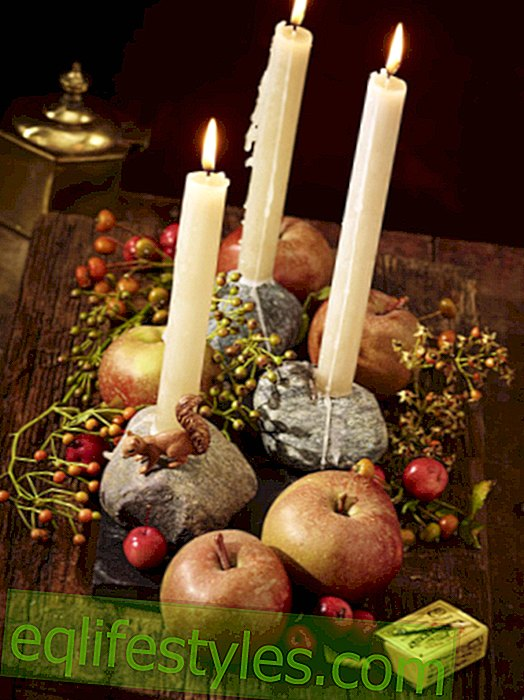 live - Autumn lights: Make candle decoration yourself
